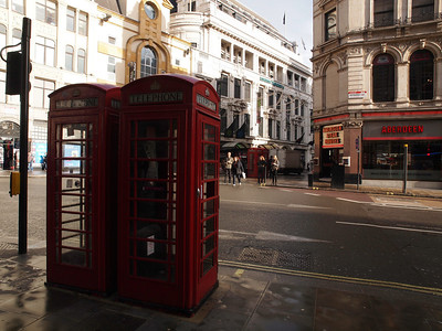 The red telephone box. Photo: Martin Bager.