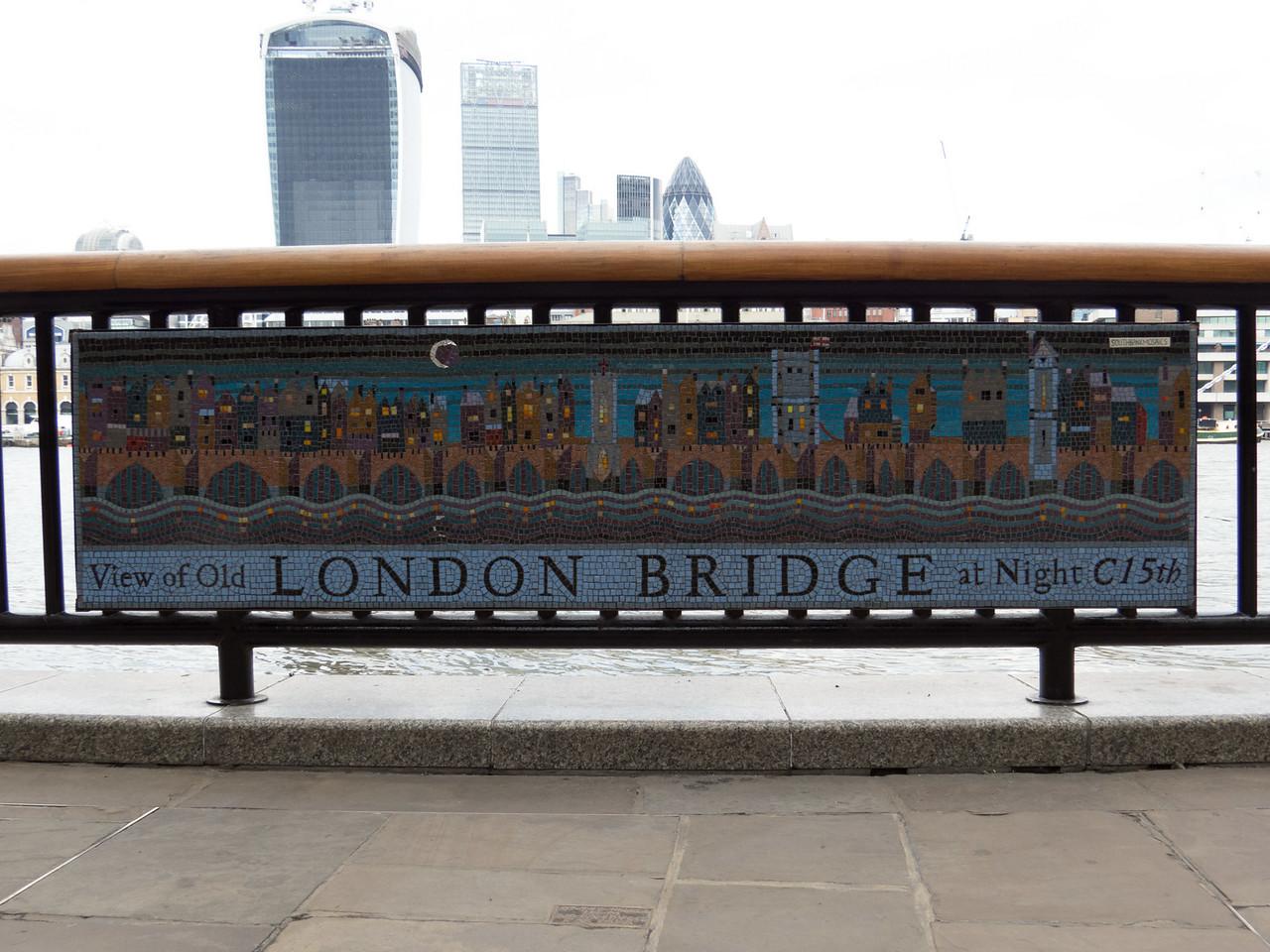 London Bridge mosaic