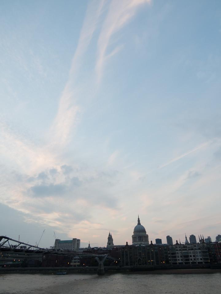Skies over London