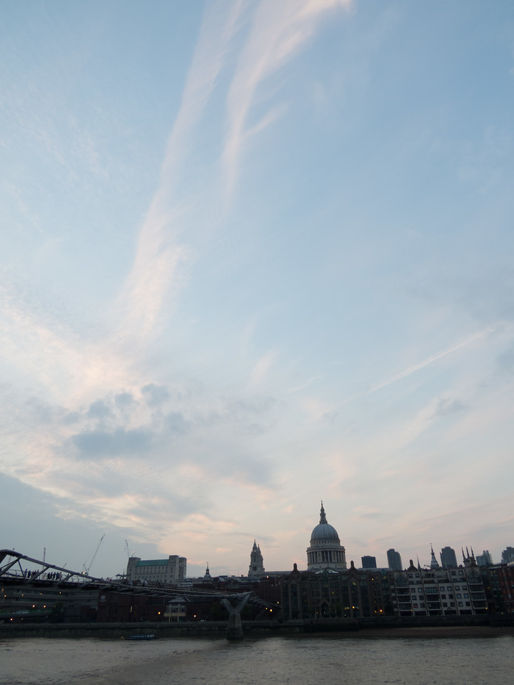 Skies over London