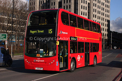 12137, LX61DFP, Stagecoach in London