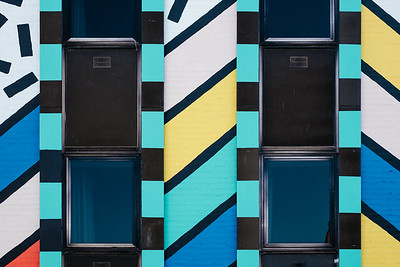 Camille Walala mural street art in London