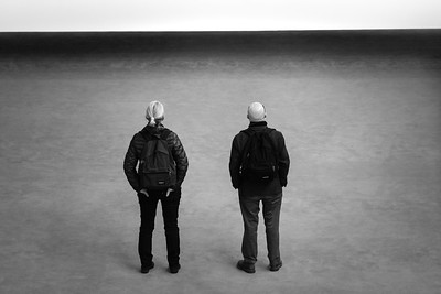 Looking at art in the Tate modern museum