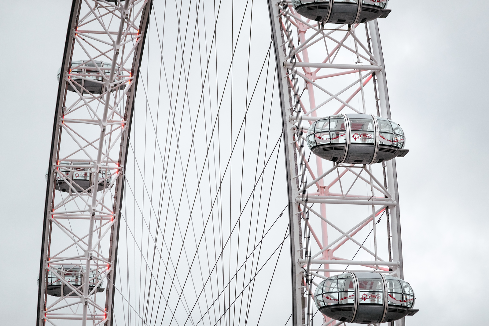 Detail of the London Eye