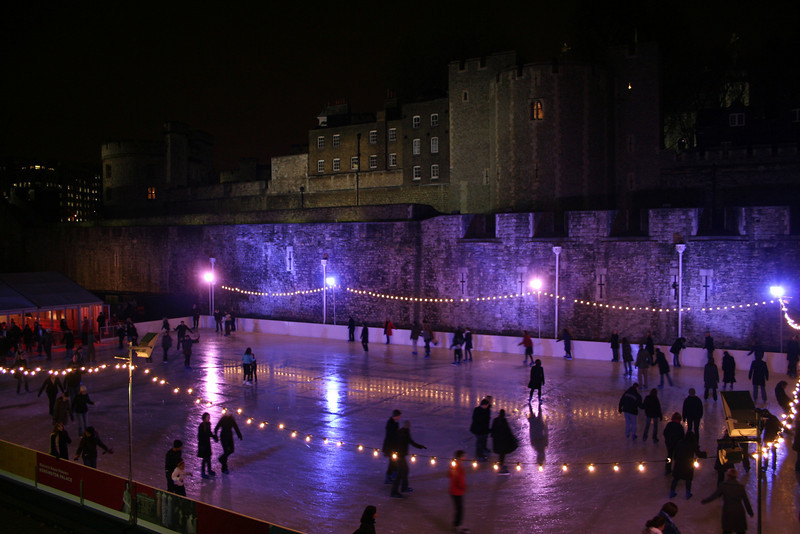 Tower of London Ice Skating Rink