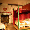 The Medieval Palace exhibit in St Thomas's Tower. This is a recreation of Edward I's bedroom.