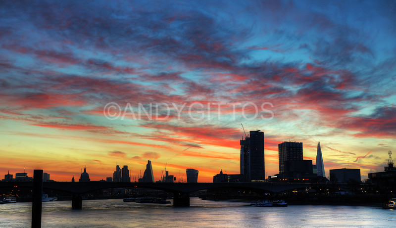 London City Sunrise
