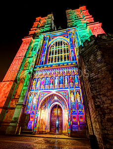 Wesminter Abbey, Lumiere London
