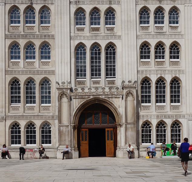 Guildhall. City of London.