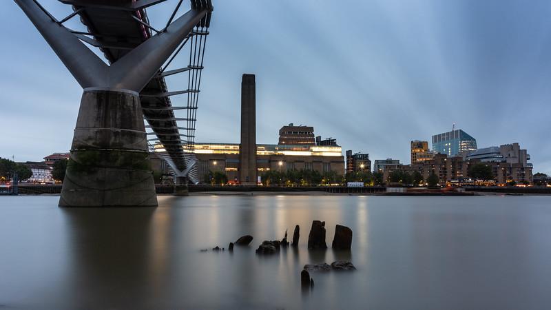 River Thames at Millennium Bridge