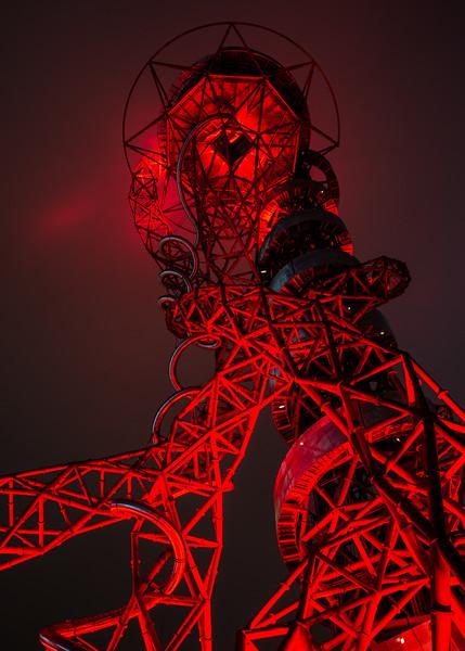 ArcelorMittal Orbit Tower at night