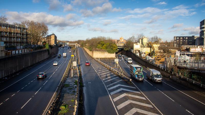 East Cross Route in Hackney Wick