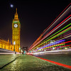 Elizabeth Tower Night Scene