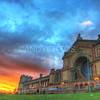 Ally Pally Sunset