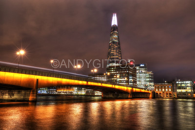 London Bridge and Shard