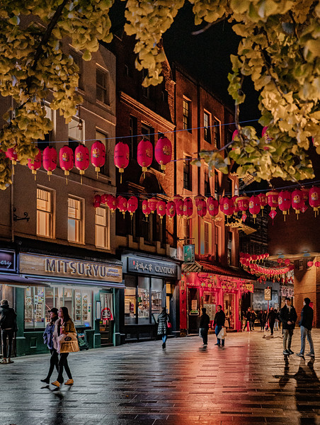 Evening Stroll in Chinatown –  London, November, 2018