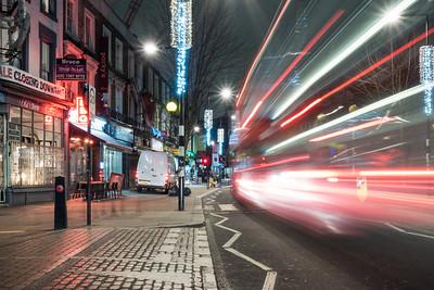 Bus in Camden Town