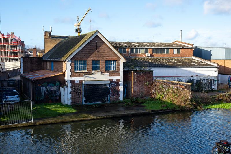 Canalside industry and regeneration in Hackney Wick