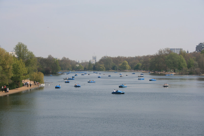 The Serpentine, Hyde Park.
