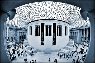 The Great Court of the British Museum