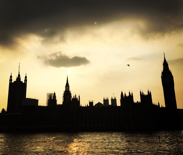 The Sun Sets on the Palace of Westminster. 2015.