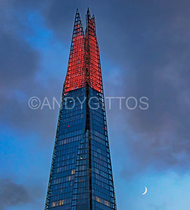 Red Shard with Moon