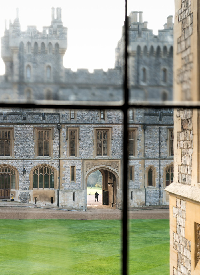 View from Inside Windsor Castle