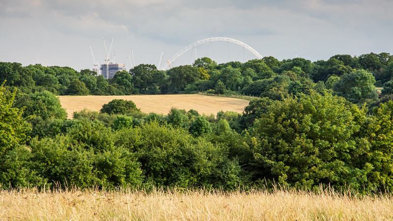 Fryent Country Park and Wembley Arch