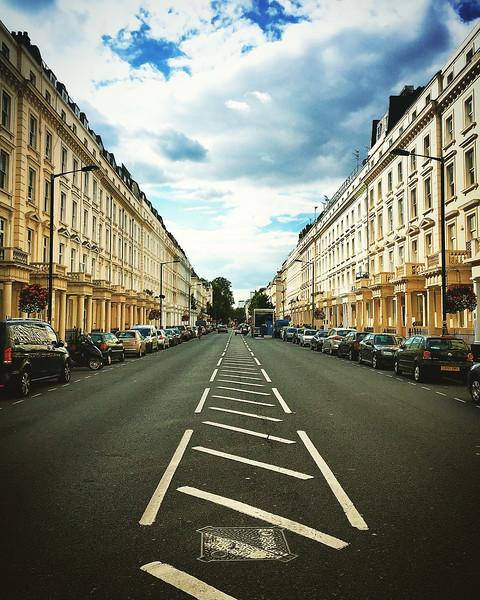 Street in Pimlico. 2016.