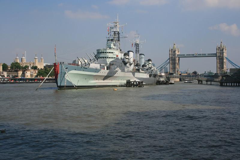 HMS Belfast.