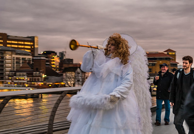 Skating Angel - Grand Entrance - Millennium Bridge