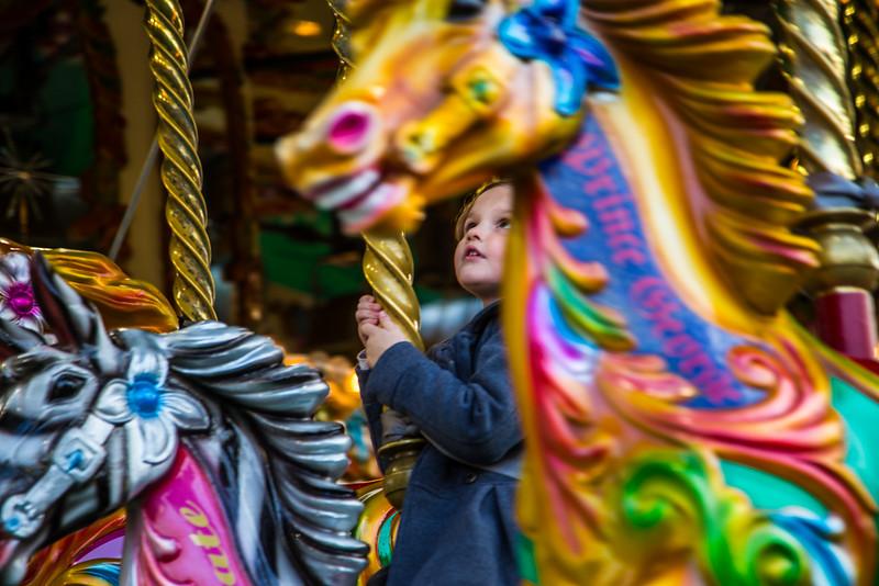 Eva on Merry-go-round