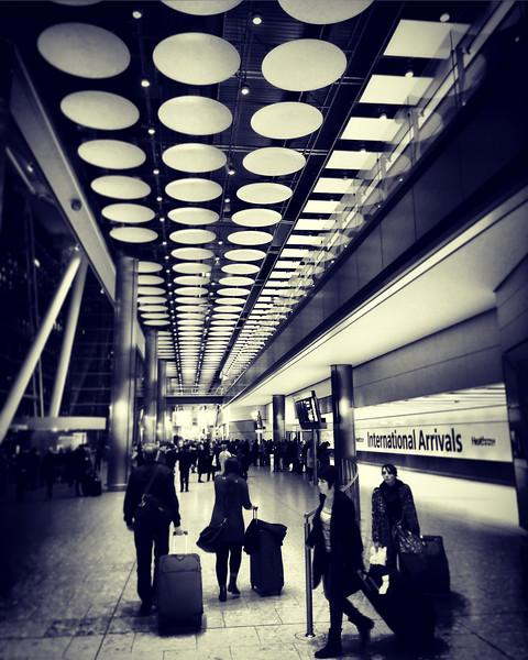 Heathrow International Arrivals. 2016.