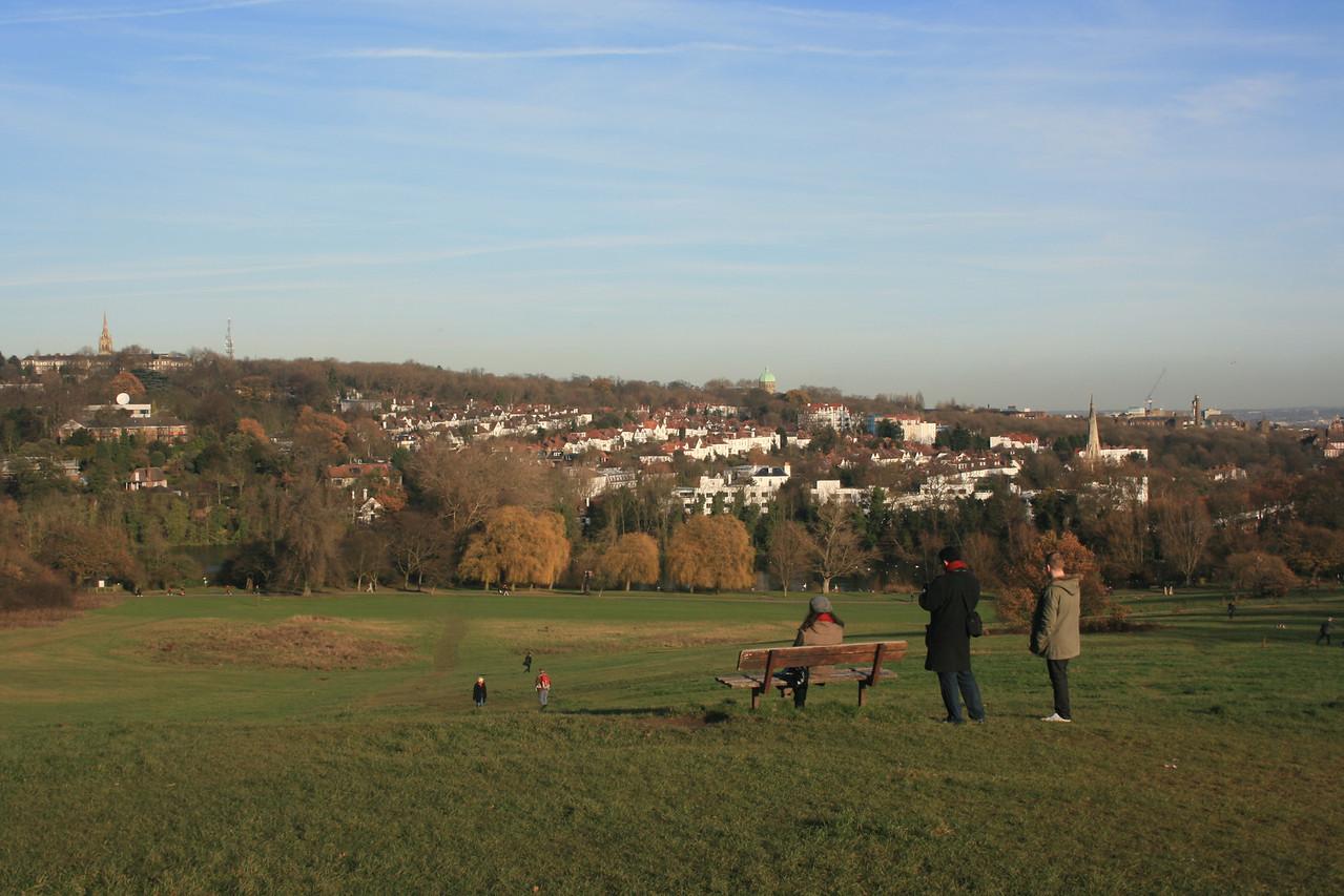 Parliament hill, Hampstead Heath.