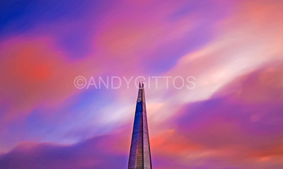 Shard Sunset