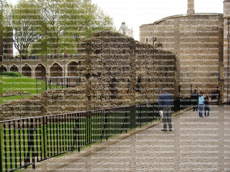 Tower of London original wall