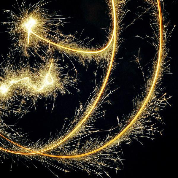 Guy Fawkes' Night Sparkler. 2016.