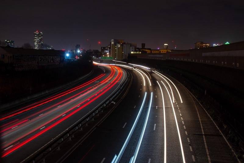East Cross Route traffic