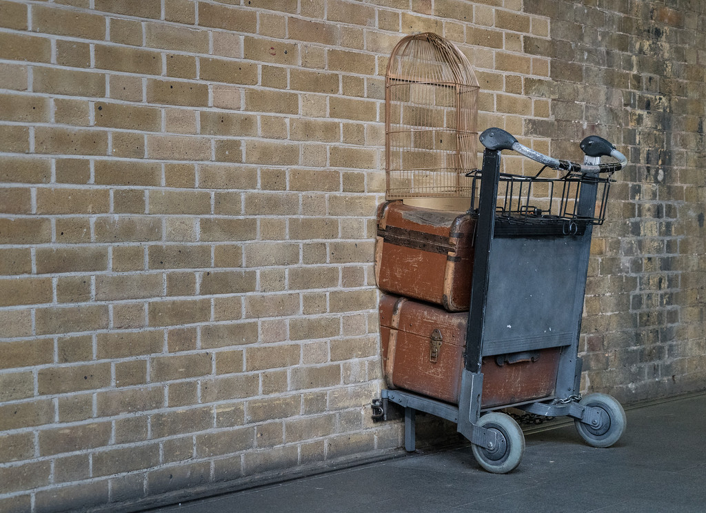 Platform 9 3/4, Kings Cross Station