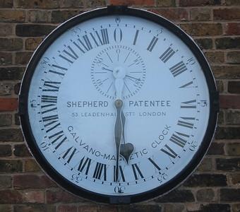 Clock, Greenwich Observatory.