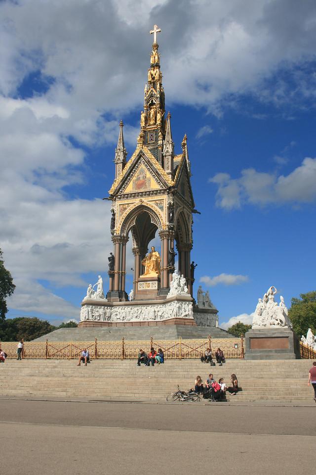 The Albert Memorial.