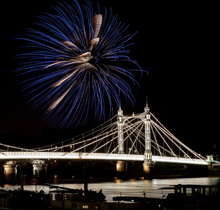 Albert Bridge Fireworks