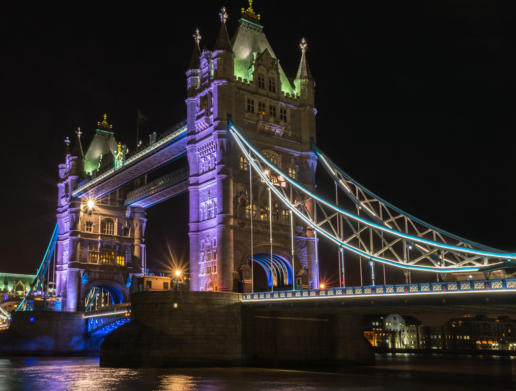 Tower Bridge, South Side of Thames