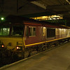 66085 in seen at the rear of the Concrete Cow railtour having arrived at London Euston about 15 mins early 21/01/12