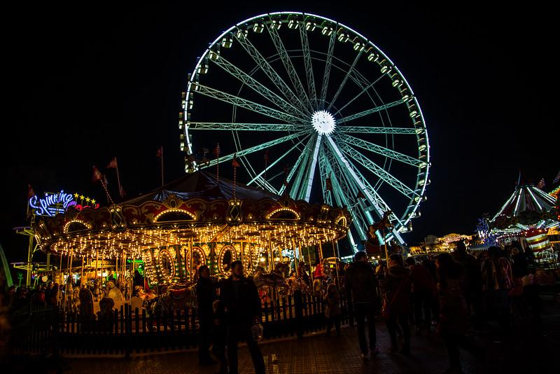 Winter Wonderland Merry-go-round