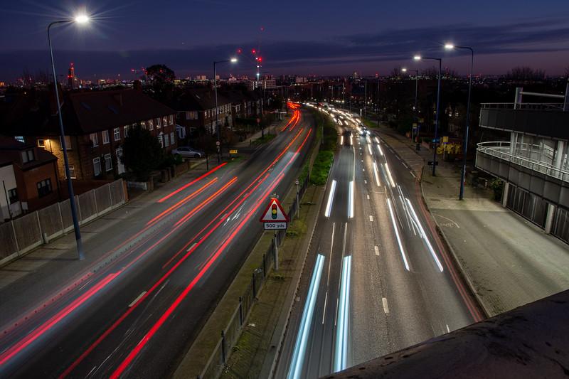 Western Avenue traffic