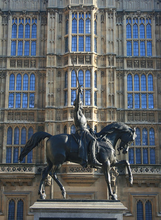 Richard the Lionheart, Palace of Westminster.