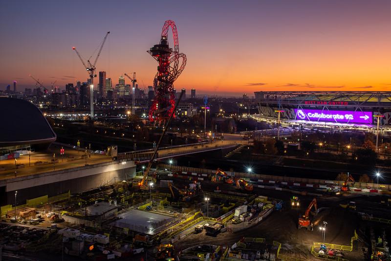Olympic Park sunset
