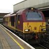 67017 arrives at London Victoria to haul 1Z91 London Victoria - Bath Spa VSOE 21/01/12