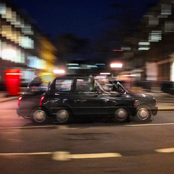 London's Iconic Black Cab. 2017.